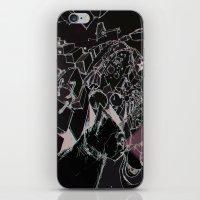 skitzo cat iPhone & iPod Skin