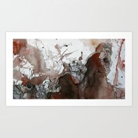 It Was a Bad Day Art Print