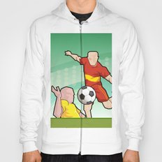 Soccer game Hoody
