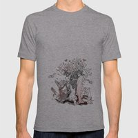 Lilith Tastes. Mens Fitted Tee Athletic Grey SMALL