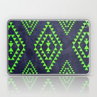 Navy & Lime Tribal Inspi… Laptop & iPad Skin