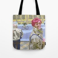 Passers (Passants) Tote Bag