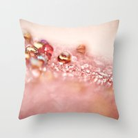 Shimmer - Vintage Throw Pillow
