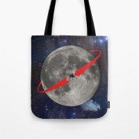 Lunar Lander Tote Bag