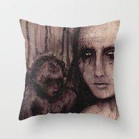 Torn Up Throw Pillow