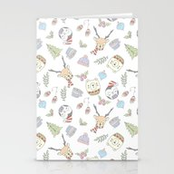 WINTER CRITTERS Stationery Cards