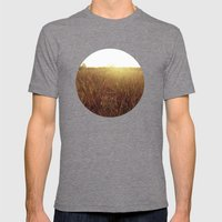 Sweet Sunset Mens Fitted Tee Tri-Grey SMALL