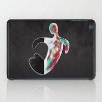 (Don't) Paint It Black iPad Case
