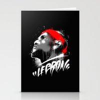 Lebron J Stationery Cards