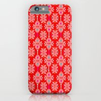 Stella in Red Pattern iPhone 6 Slim Case