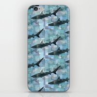 Sharks Repeat 1 iPhone & iPod Skin