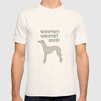 Whippet! Whippet Good!  Mens Fitted Tee Natural SMALL