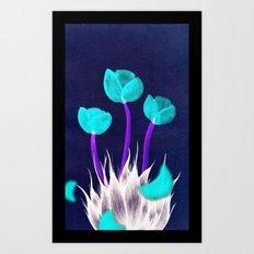 Eau de i; Kenzo Flower Art Print