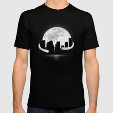 Goodnight SMALL Mens Fitted Tee Black