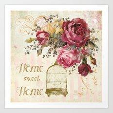 Home Sweet Home #2 Art Print