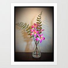 The Bright Flowers Art Print