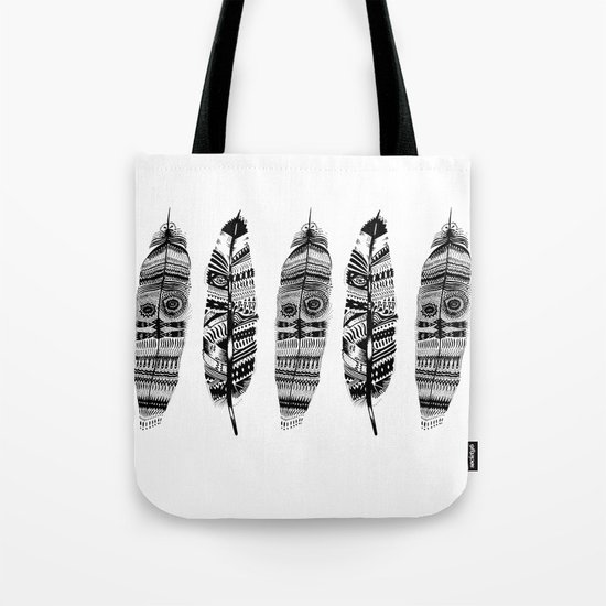 Feather time  Tote Bag