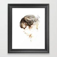 Tender Framed Art Print