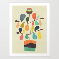 Potted Plant 4 Art Print