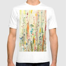 liberté Mens Fitted Tee White SMALL