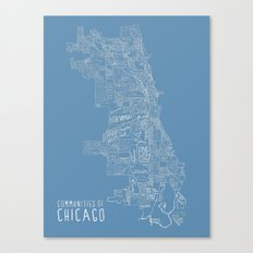Communities of Chicago Canvas Print