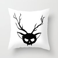 The Catalope Throw Pillow