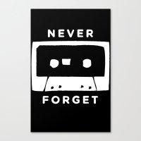 H&S: Cassette Canvas Print
