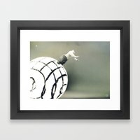 Stuck In a Hard Place |Photo Framed Art Print