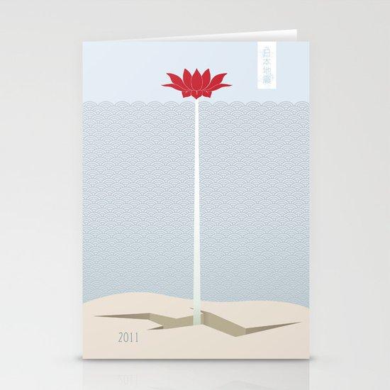 Japan Earthquake 2011 no.1 Stationery Card