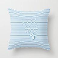 WAKE Throw Pillow