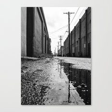 Gritty Tacoma alley Canvas Print