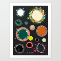 The Planets Print Two Art Print