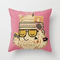 The Baumer Throw Pillow