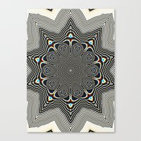 Full Om Mandala Canvas Print