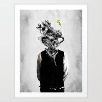 Mindgrow Art Print