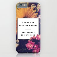 The Pace Of Nature iPhone 6 Slim Case