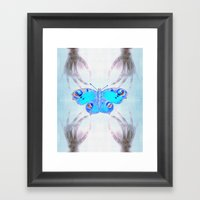 Experiment 1: Metamorphosis Framed Art Print