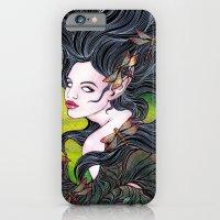 Queen of dragonflies iPhone 6 Slim Case