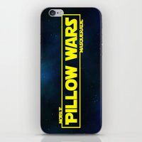 Pillow Wars iPhone & iPod Skin