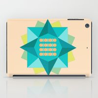 Abstract Lotus Flower - Yoga Print iPad Case
