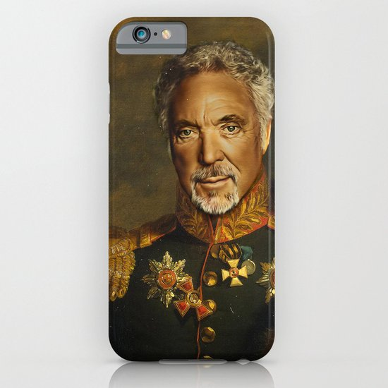 Sir Tom Jones OBE iPhone & iPod Case