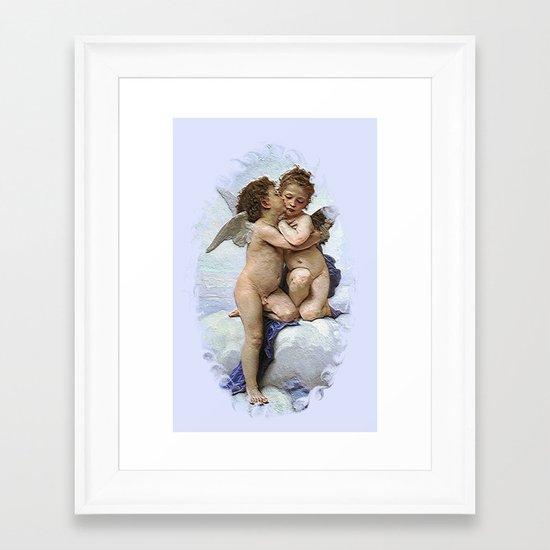 Bouguereau-First Kiss Framed Art Print