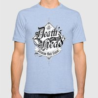 Death's Head Liquor Mens Fitted Tee Tri-Blue SMALL