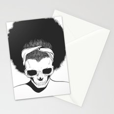 SKull GIrls 2 - Sky Teal Stationery Cards