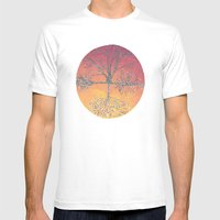 Connected Mens Fitted Tee White SMALL