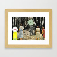 We're Not Always Who We Appear Framed Art Print