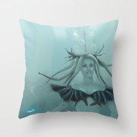 Seaaira Throw Pillow