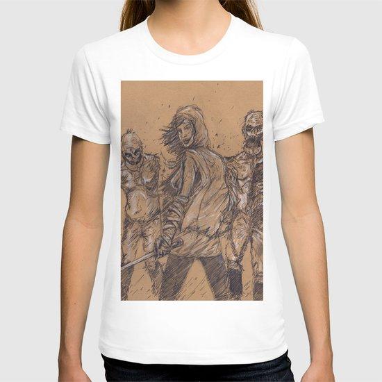 The Walking Dead-Michonne T-shirt