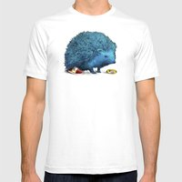 Sonic (color option) Mens Fitted Tee White SMALL