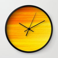 SUMMER SONNET Wall Clock